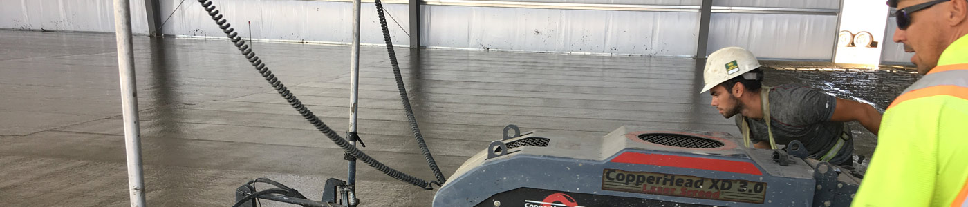 Laser Screed